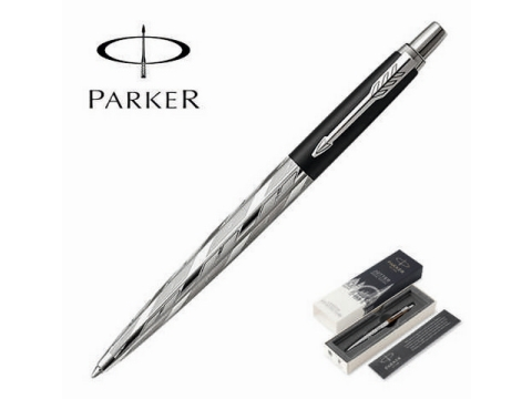 ΣΤΥΛΟ PARKER - Jotter London Architecture Special Edition Black Postmodern Chrome Trim Ballpoint Pen